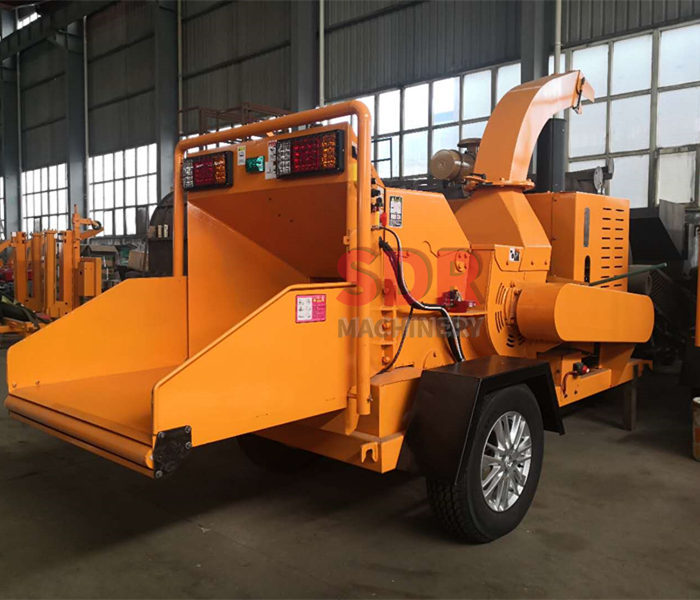 Discount wholesale Wood Chip Dryer Machine - S6145 Trailer Wood Chipper – Shindery