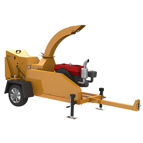 Chinese Professional Rotary Wood Dryer - S6130 Trailer Wood Chipper – Shindery