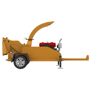 Online Exporter Tree Chopping Machine - S6130 Trailer Wood Chipper – Shindery
