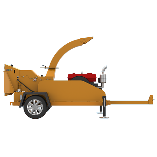Super Lowest Price Pellet Machine Line - S6145 Trailer Wood Chipper – Shindery