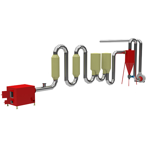Cheapest Factory Wood Granulator Machine - Air FLow Pipe Dryer – Shindery