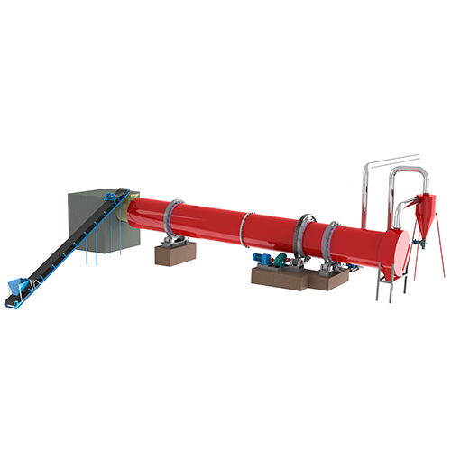 OEM China Biomass Dryer Manufacturers - Rotary Drum Dryer – Shindery