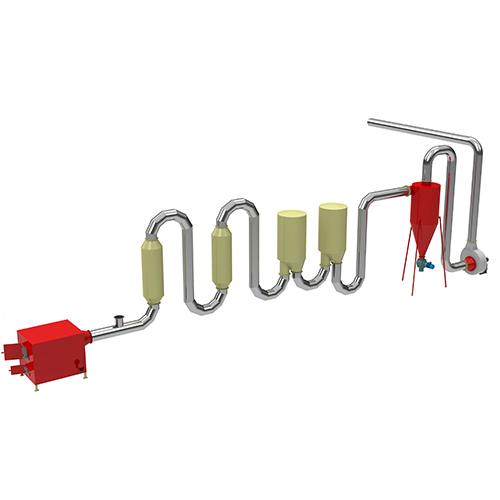 Popular Design for Biofuel Pellet Machine - Air FLow Pipe Dryer – Shindery