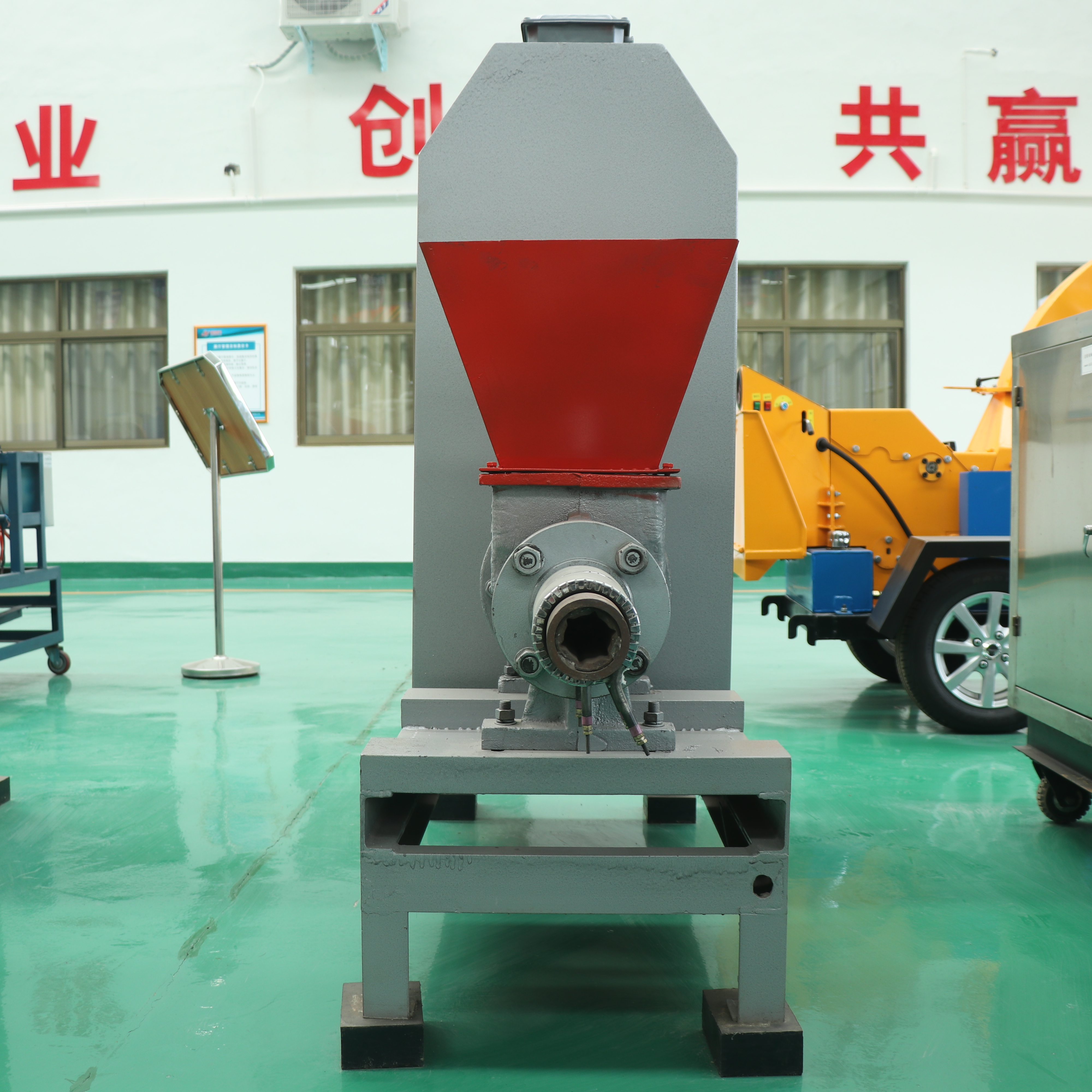 Lowest Price for Log Shredder Machine - Screw Type Biomass Charcoal Briquette Machine – Shindery