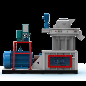 Factory Supply Pellet Mill Die And Roller - LGX600 Biomass Pellet Machine – Shindery