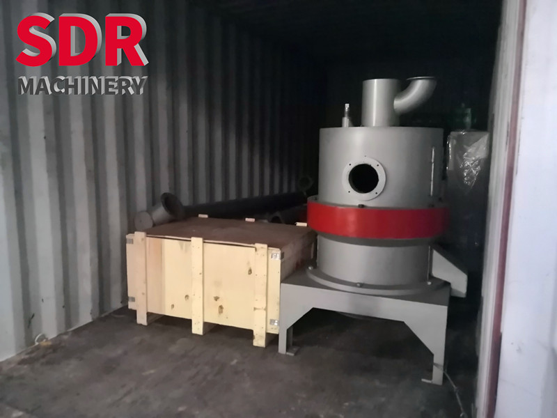 Shindery machinery delivered the 2nd set of wood powder machine to old customer in India